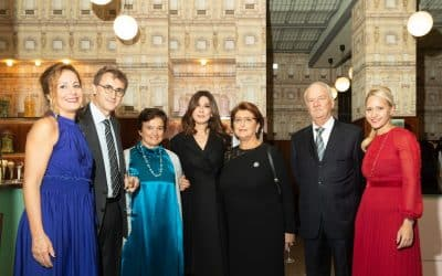 Charity dinner con asta benefica