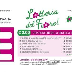 biglietto lotteria del Fiore