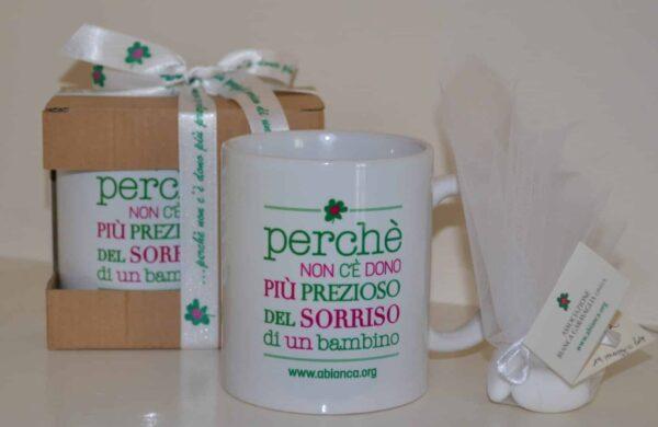 Tazza in ceramica stampata