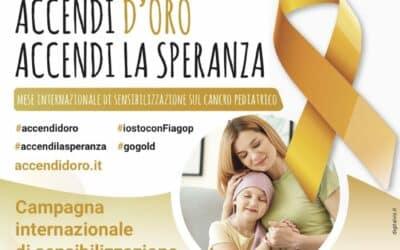 campagna internazionale di sensibilizzazione sul cancro pediatrico