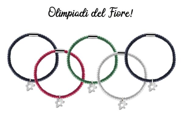 "Bracciale ""le Olimpiadi del Fiore"""