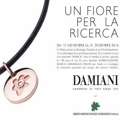 """il ciondolo """"Bianca"""" by DAMIANI"""